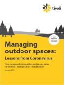 Tivoli white paper explores managing outdoor spaces during COVID-19 and beyond